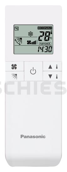 Panasonic Fernbedienung Infrarot CZ-RWS3 f. WG MK2/PK2 und Kass. MY2/PY2
