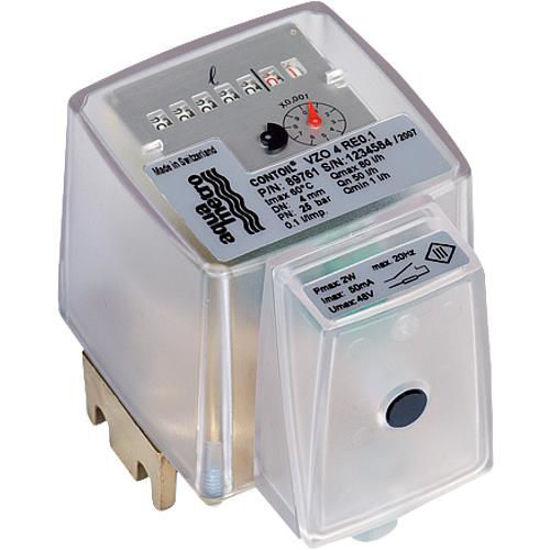 Aqua - Metro - Ölzähler Ringkolbenzähler VZO 4 RE 0,1 mit Innengewindeanschluß