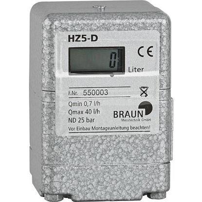 Ölzähler Braun HZ5-DR