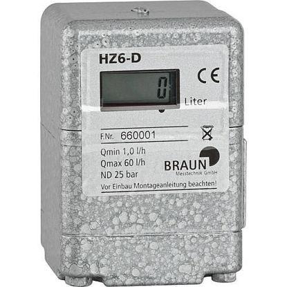 Ölzähler Braun HZ6-D